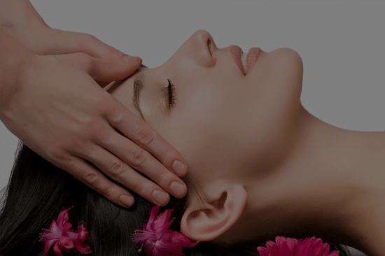 Ayurvedic head massage in India
